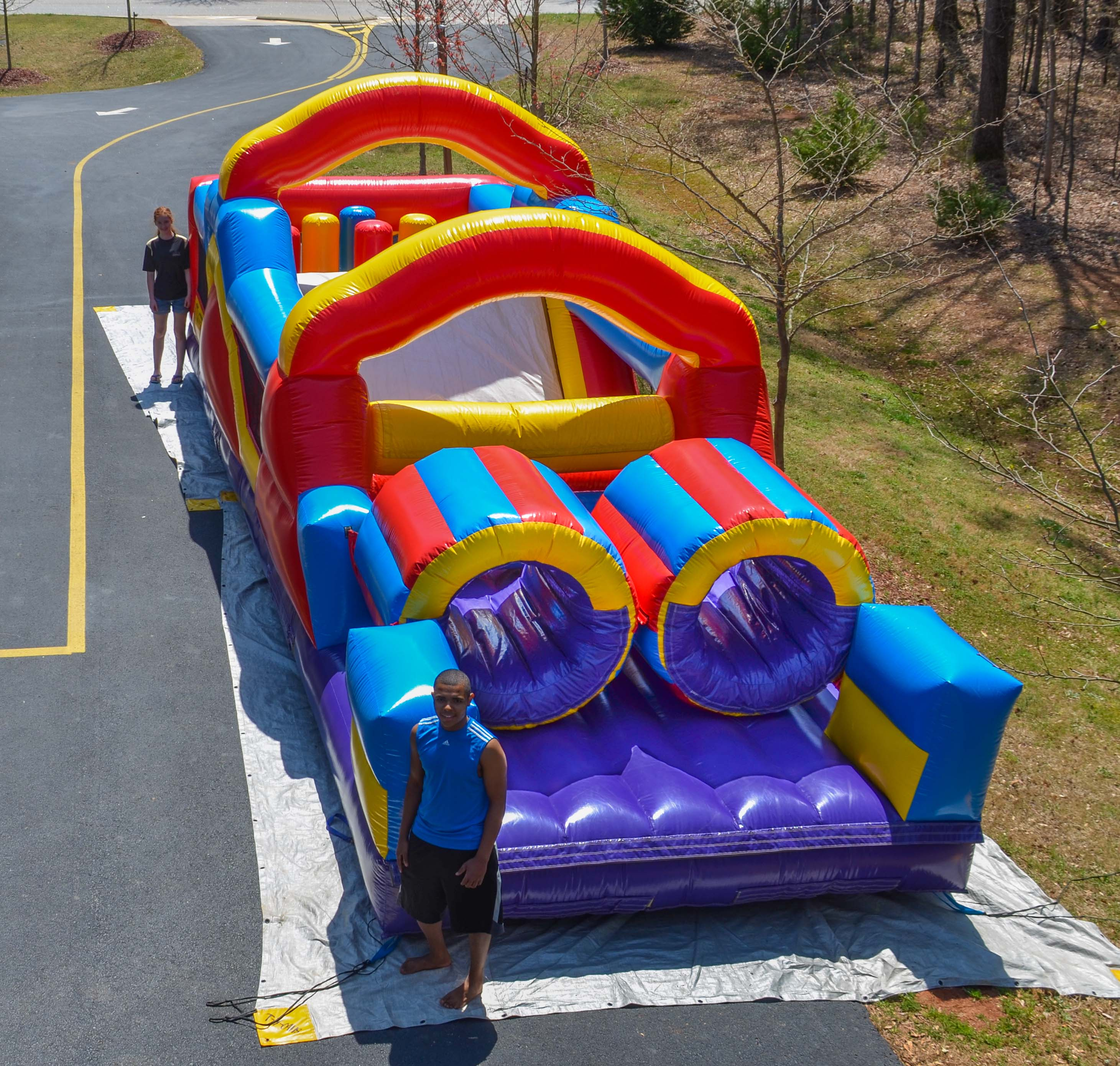 Monster Obstacle Course - Bounce House Rentals & Water Slides