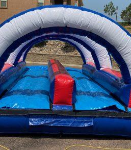 Patriots Slip N Slide with Pool